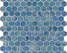mosaico-in-vetro-esagonale-blu