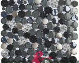 mosaico-circolare-nero