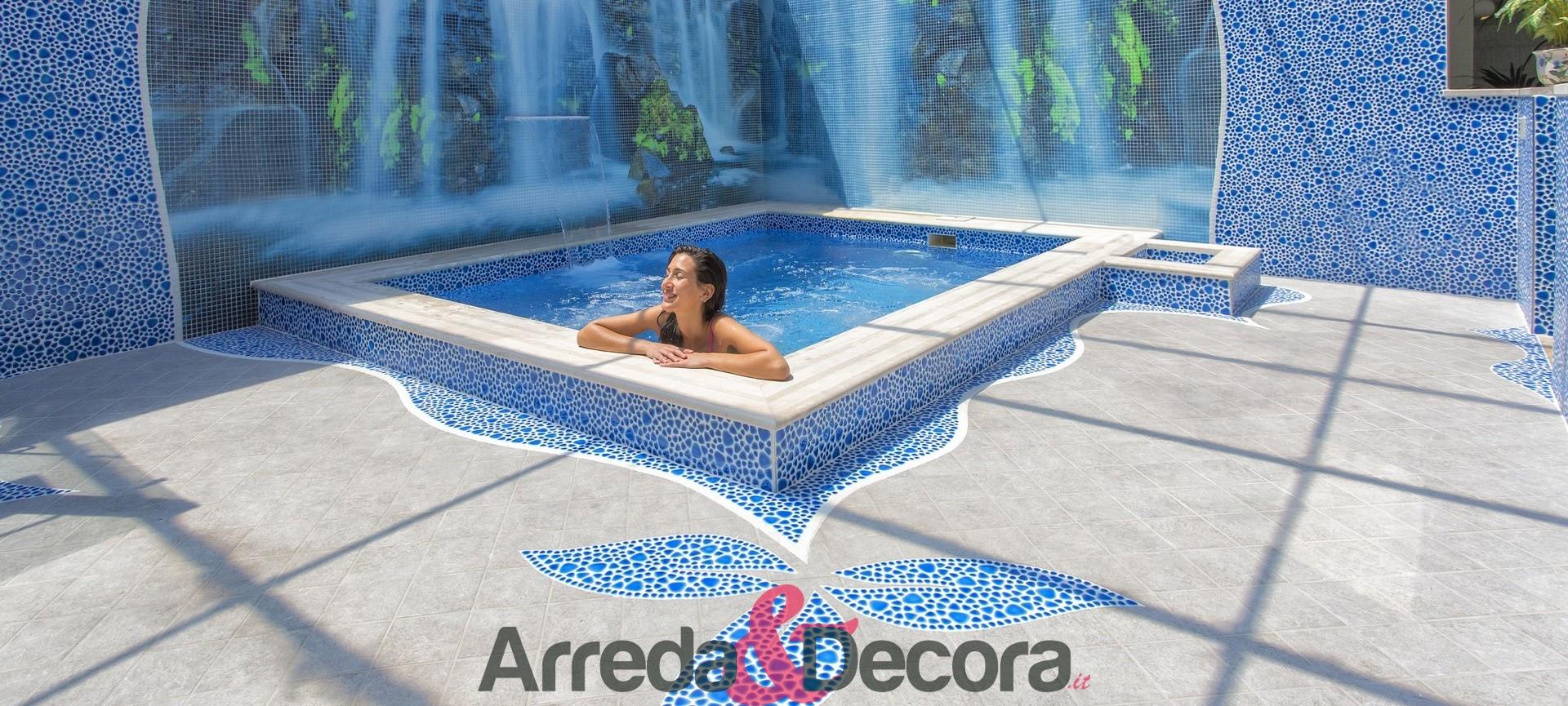 ArredaeDecora – Mosaici per bagni e piscine di pregio, lavabi e accessori. Header
