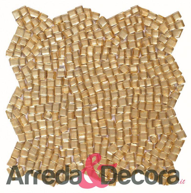 mosaico brunei cristallo dune oro