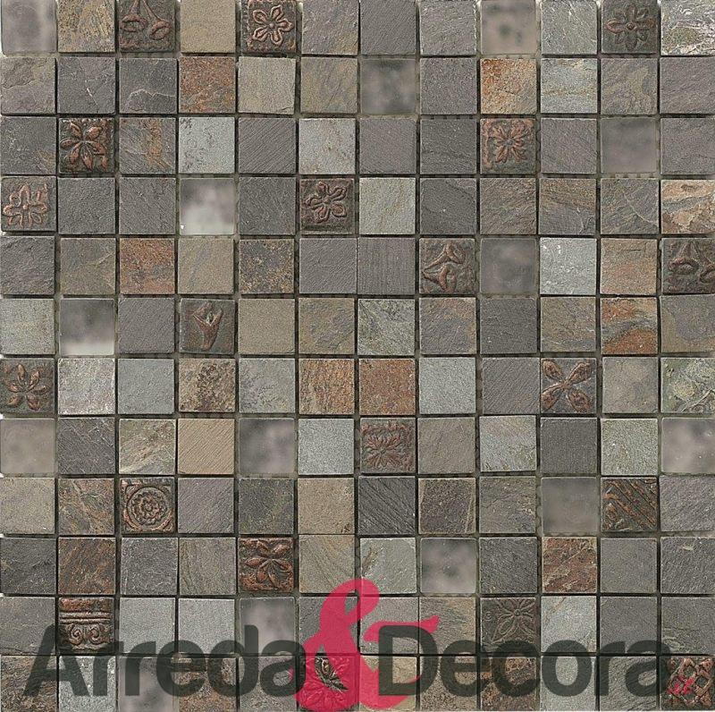 mosaico in vetro e pietra NAZCA dune 1