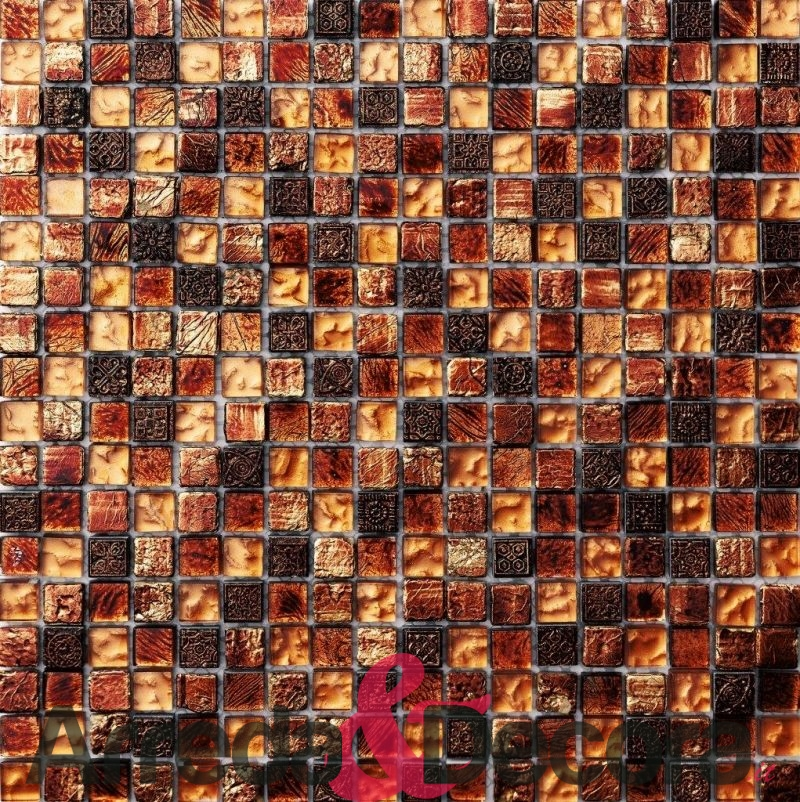 mosaico in vetro e pietra mod. HERMES dune 1