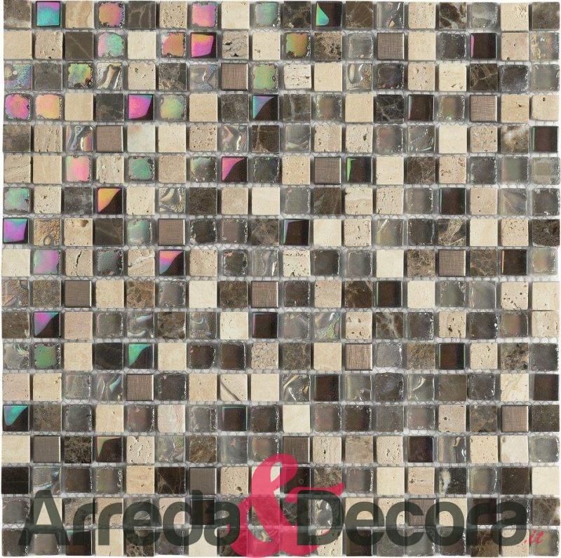 mosaico in vetro e pietra mod. JAIPUR dune 1