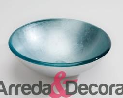 lavandino in vetro cristallo LAVABO PAN DE PLATA dune