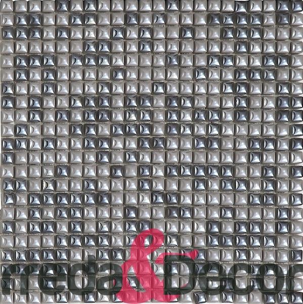 mosaico 1x1 grigio