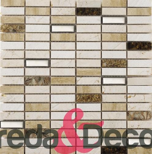 mosaico in pietra natura