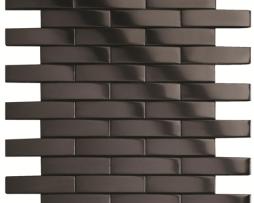 Mosaico in Acciaio mod. Nero Spazzolato Cuirassier EW-CURBB