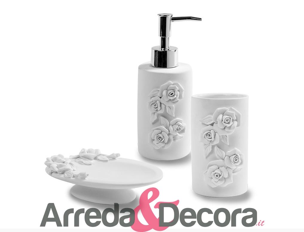 accessori bagno in ceramica bianca cipi galatea