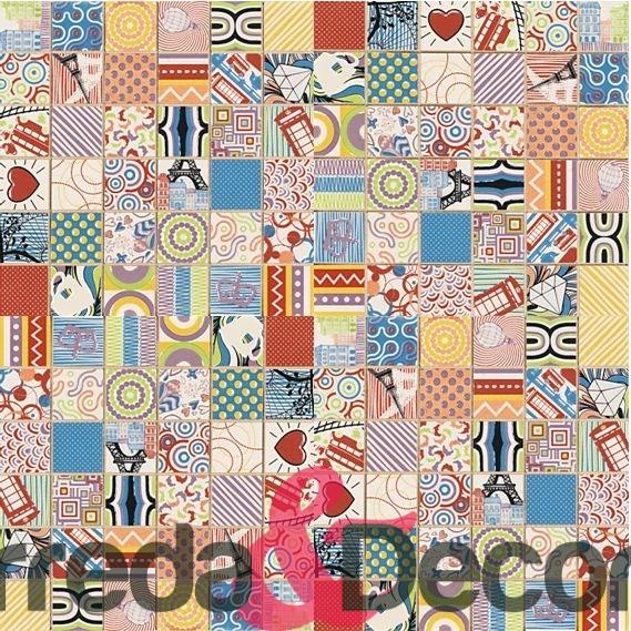 mosaico pop art voyage