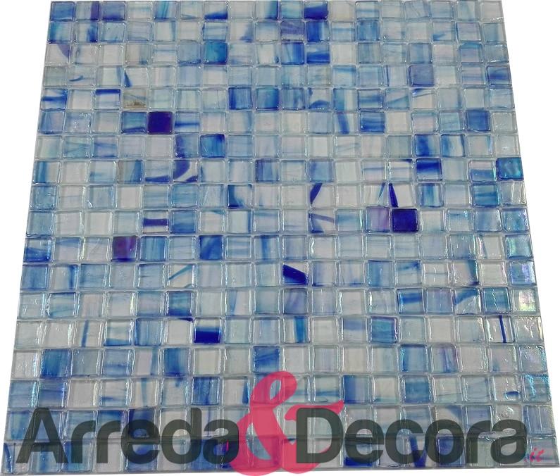 mosaico azzurro mix