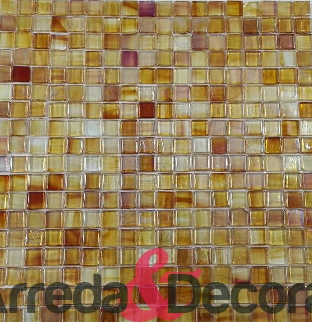 mosaico colore ambra
