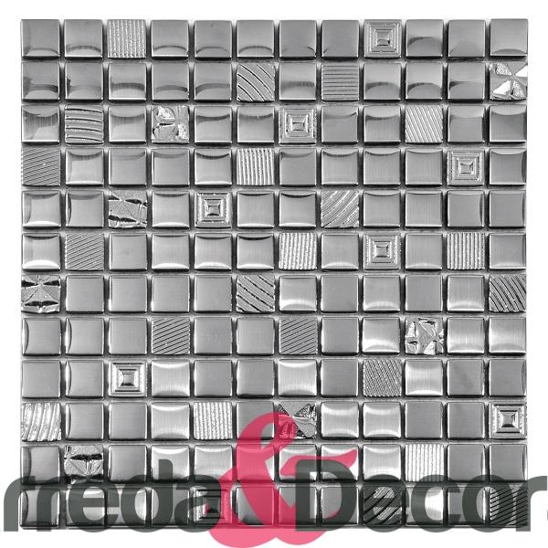 mosaico argento lisa 2