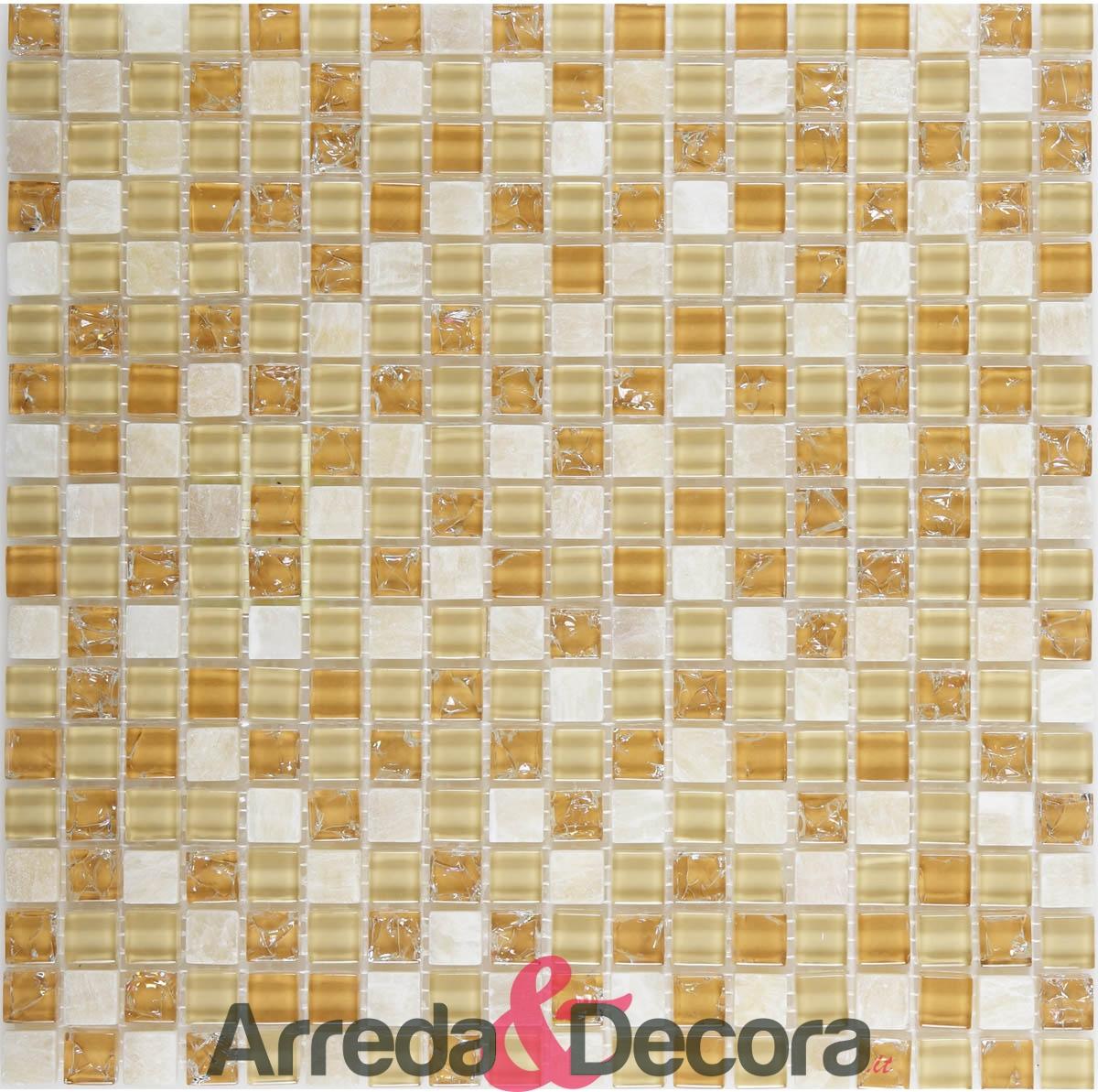 mosaico giallo