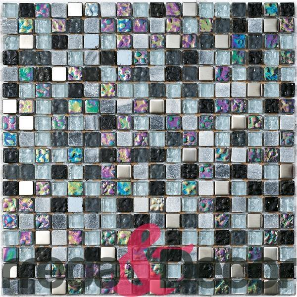 mosaico grigio iridescente bart