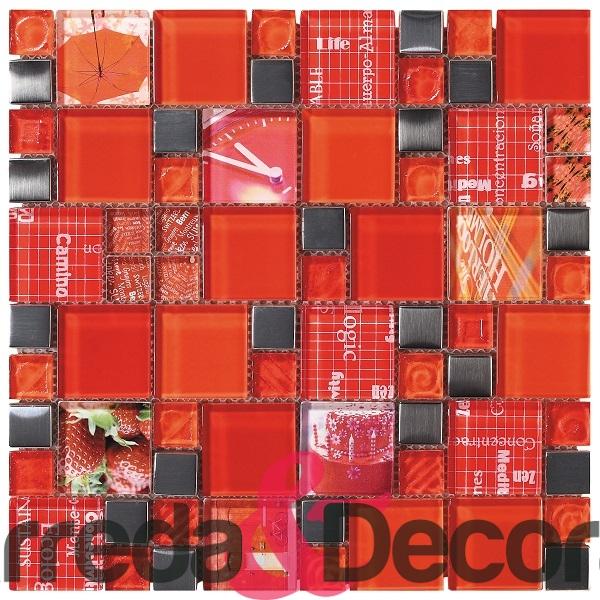 mosaico rosso kioto 1