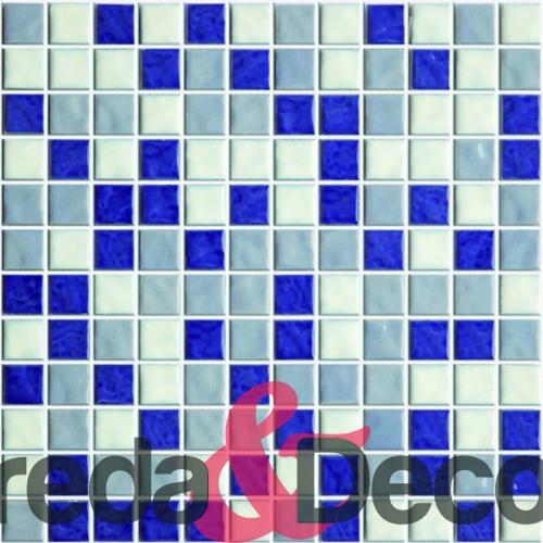 mosaico mix blu