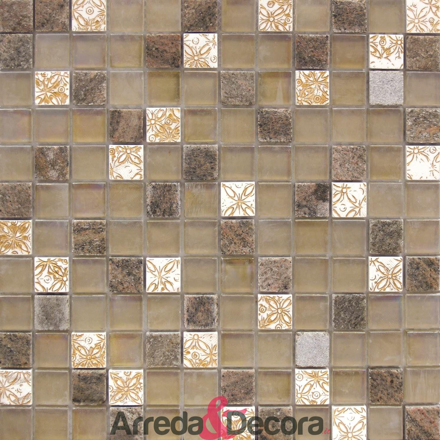 mosaico rustico mix