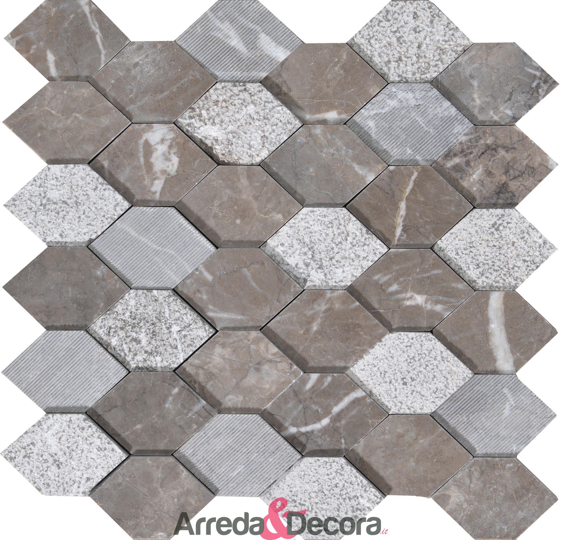 mosaico-esagonale-marmo-grey