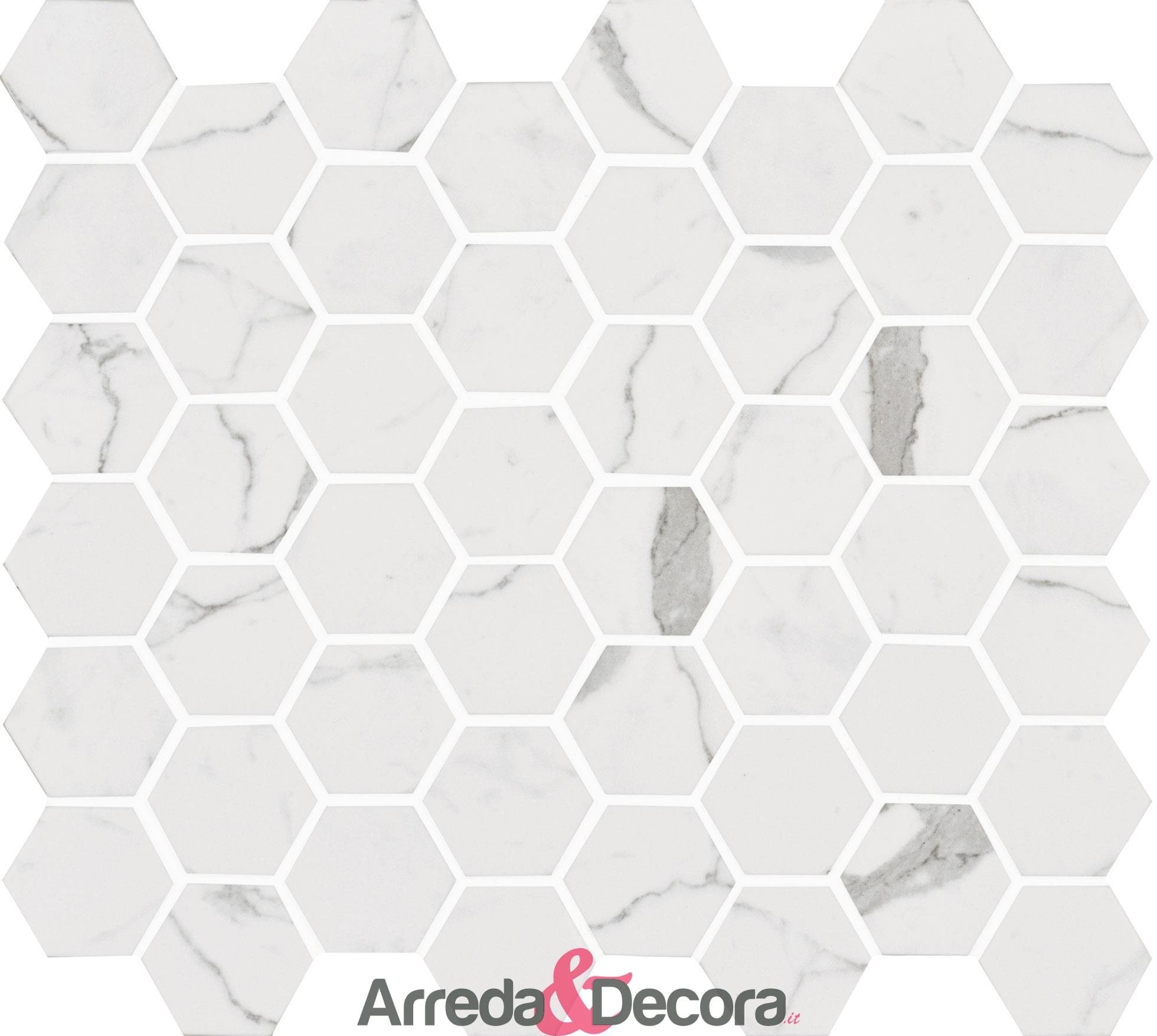 mosaico-esagonale-in-vetro-riciclato-bianco